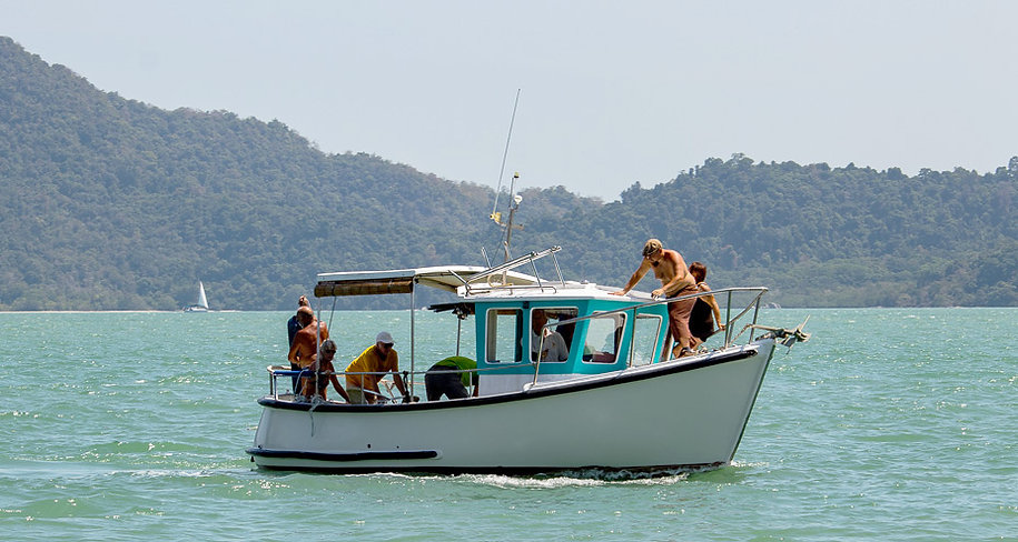 Bad Habits fishing charter Langkawi Captain Eva