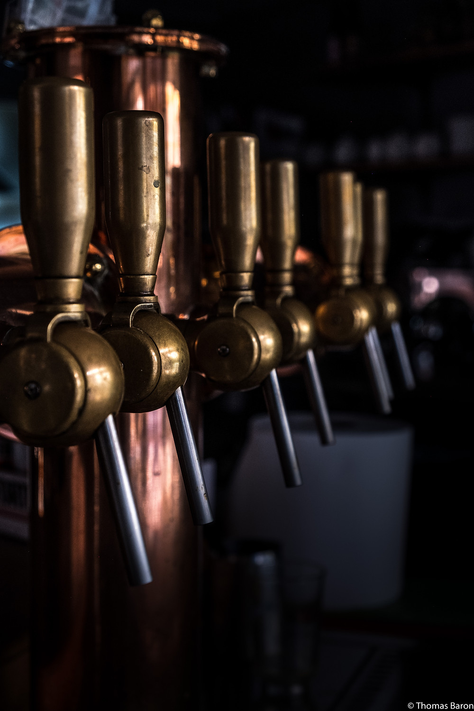 La magnifique tireuse a biere du Poele de la Bête attend patiemment la réouverture