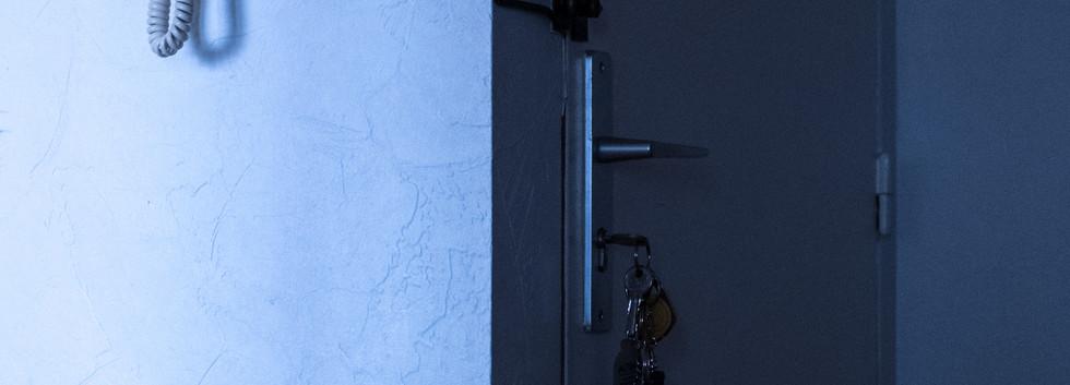 Porte d'entrée du Chez Soi