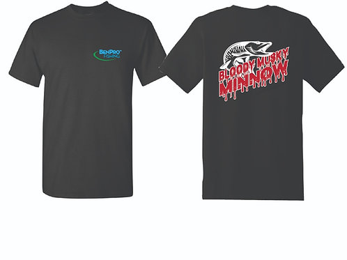 BenPro Fishing - Bloody Musky Minnow T-Shirt