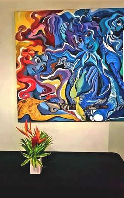 Lobby Painting