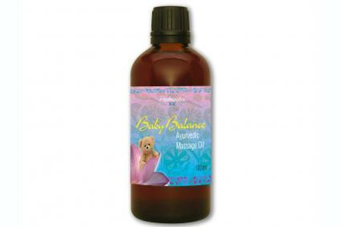 Baby balance massage oil