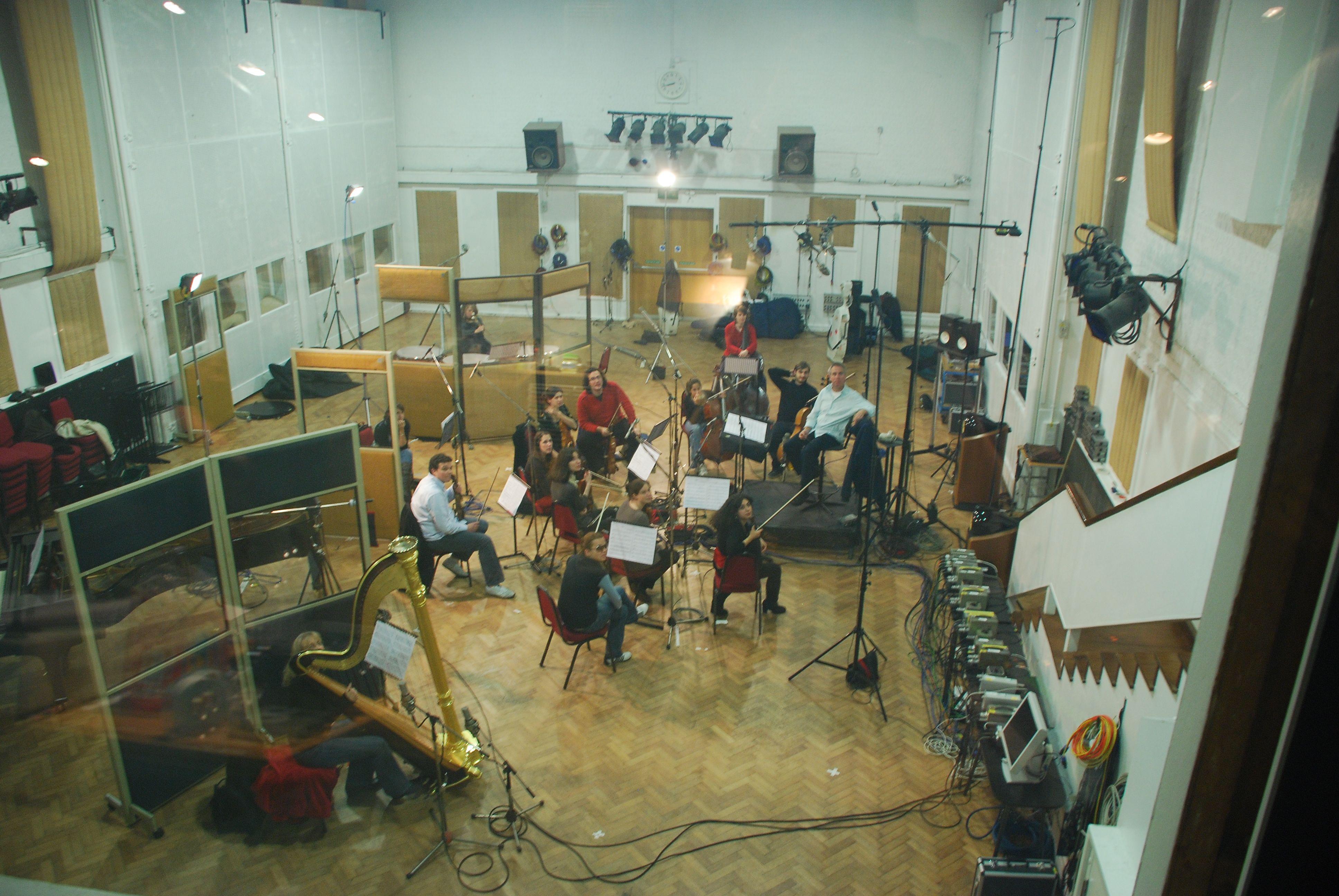 Fini Score Recording, Abbey Road