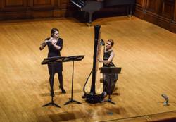 MEMO duo with flutist Elisa Moles