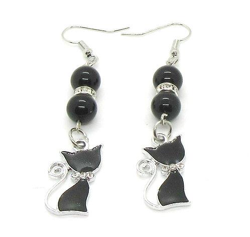Earrings Gemstone - Halloween
