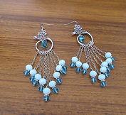 Earrings Chandelier Imperial Crystals Bl
