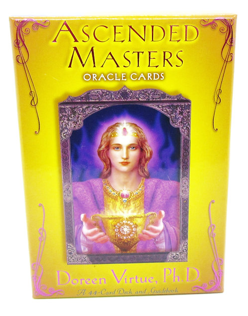 Cards Ascended Masters Angel Oracle Cards