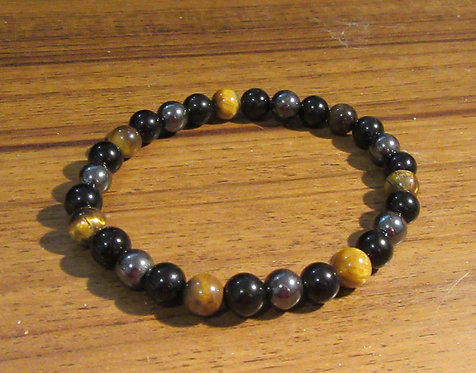 Bracelets Gemstone Mens -Stretch