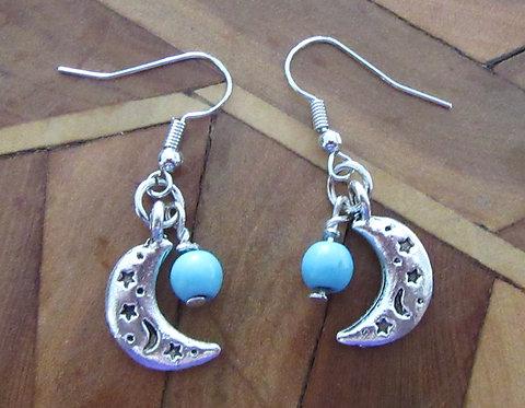 Earrings Gemstone  & Crystal