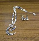 Stars & Moon Necklace & Earrings Set (5)