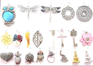 New Charms & Pendants for Bracelets & WG