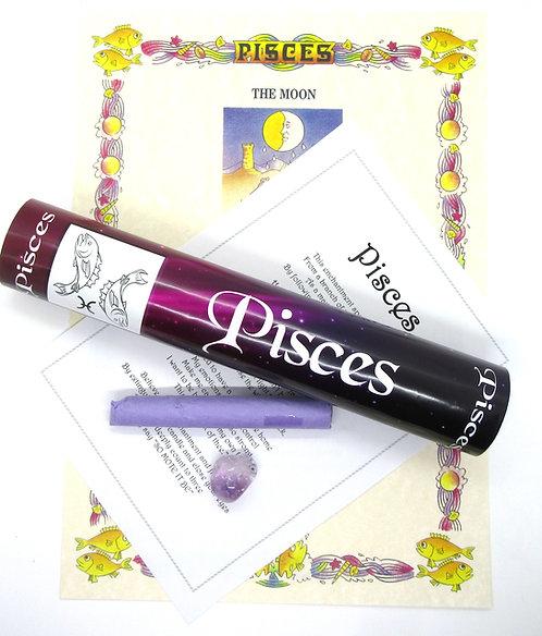 Scrolls Zodiac Enchantments - PISCES