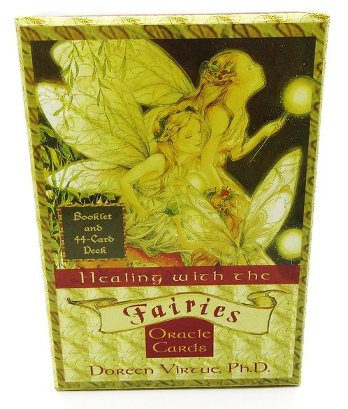 Cards Healing with the Fairies Oracle Cards