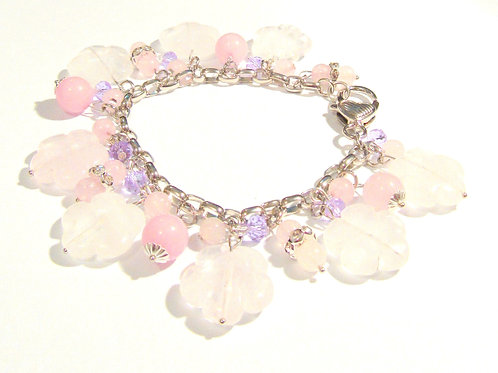 Charm Bracelets Gemstone, South Seas Pearls & Crystals