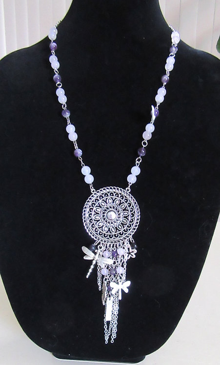 Necklaces Gemstone & Crystal - 75 cms