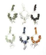Wine Glass Charms Gemstone  Dogs 2  006