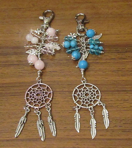 Bag Dangles Gemstone & Crystal