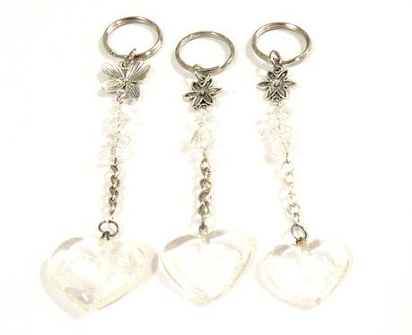 Keyrings Gemstone - Precious Hearts