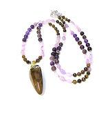 Necklaces Gemstone Boho & Rose Quartz 02