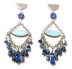 Czech Beads Chandelier Dangle Earrings