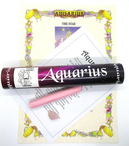 Scrolls Zodiac Enchantments -AQUARIUS