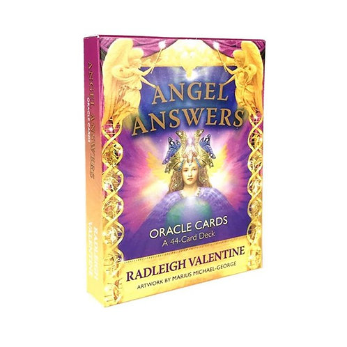 Cards Angel Answers Oracle Cards by Radleigh Valentine