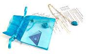 Turquoise & Clear Quartz Pendulum small