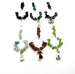 Wine Glass Charms Gemstone Cats 005  001
