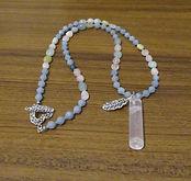Necklaces Gemstone Boho & Rose Quartz 00