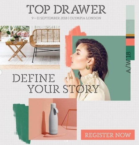 TOP DRAWER- SPOTLIGHT ON TRENDS IN COLOUR