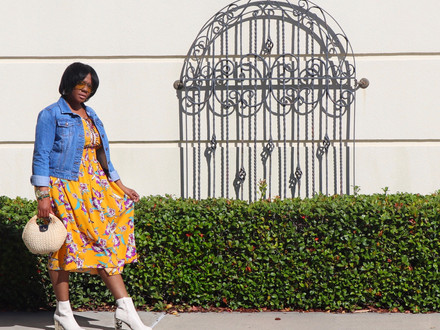 One Dress, Two Ways: How to Style a Midi Dress in Transitional Weather