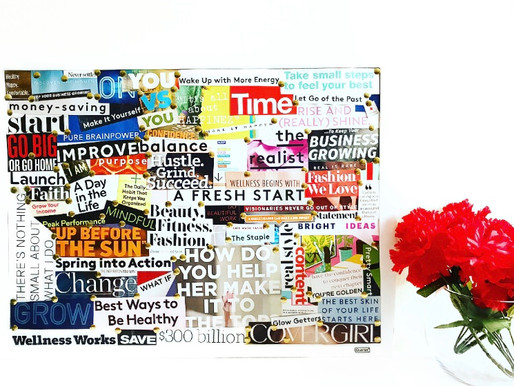 How an Action Word Vision Board Can Help You Improve Your Life