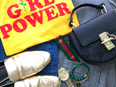 The Secret to Effortlessly Styling a Statement Tee for Fall