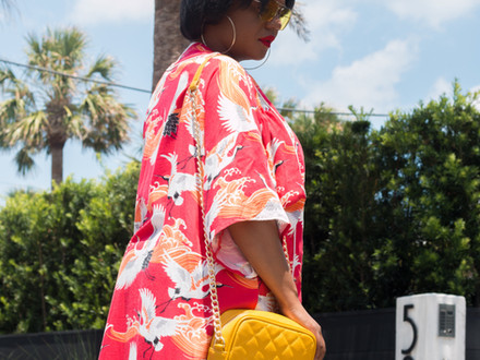 Versatile Pieces: The Red Haute Kimono +4 Effortless Ways to Style It!