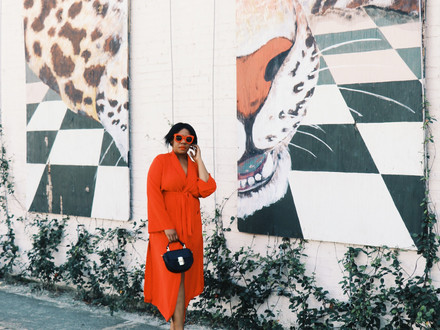 How to Style: Turn a Robe Coat Into a Dress