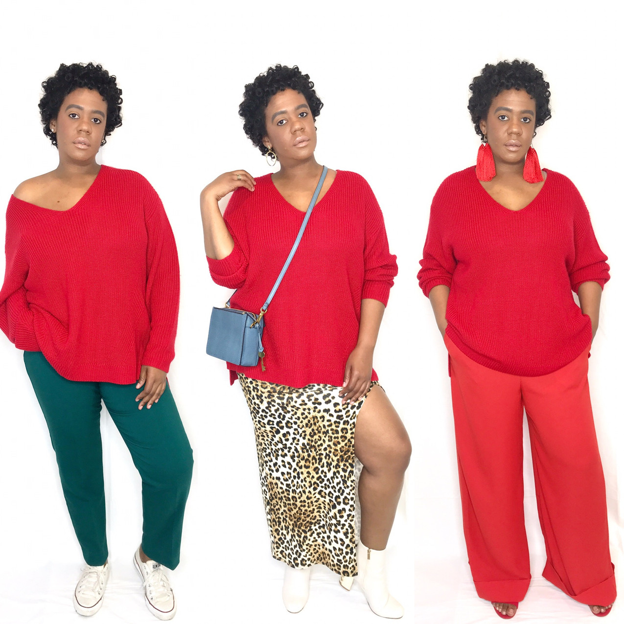 How to Style: The Red Sweater
