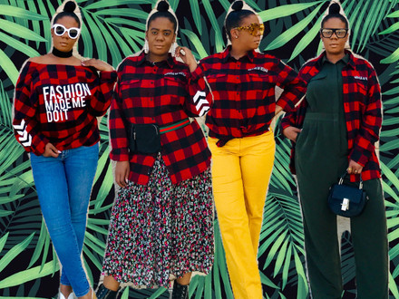 How to Style: House of Rehab Flannel Spring Remix