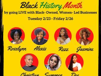 ABSM's Black History Month Black-Owned, Women-Led Businesses Live Recap