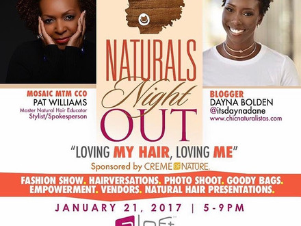 Creme of Nature: Naturals Night Out