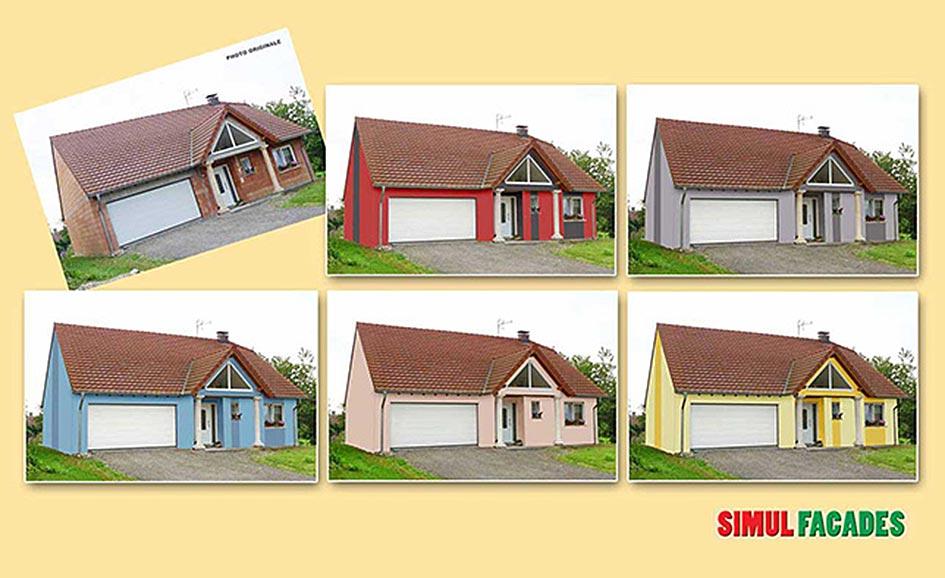 logiciel simulation couleur facade maison ventana blog. Black Bedroom Furniture Sets. Home Design Ideas