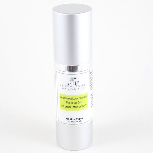 Tightening & Anti Puffiness Under Eye Gel | Cucumber & Mint Extract | 20ml