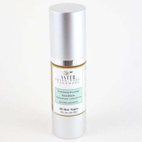 Tightening & Lifting Neck Serum | Marshmallow Root & Lupin | Natural Collagen