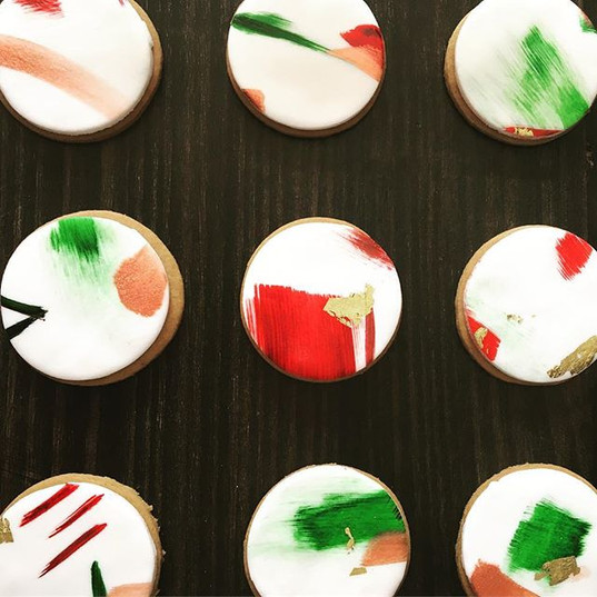 Hand Painted Gingerbread Cookies