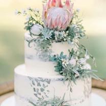 Wedding Cake native flowers.JPG