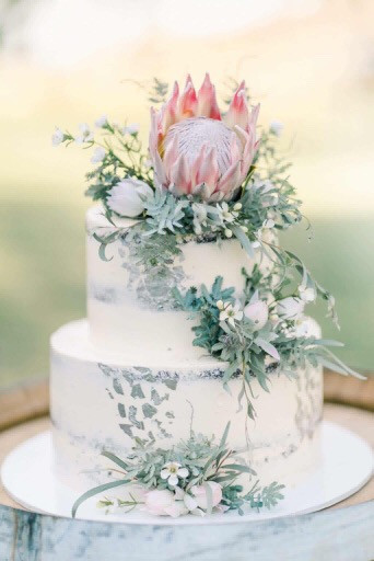 Wedding Cake native flowers.JPG