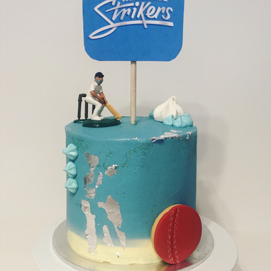 Adelaide Strikers Cake 6""