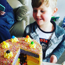 Pinata Cake