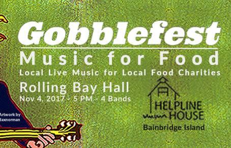 Gobblefest Benefit Concert Sat. 11/4