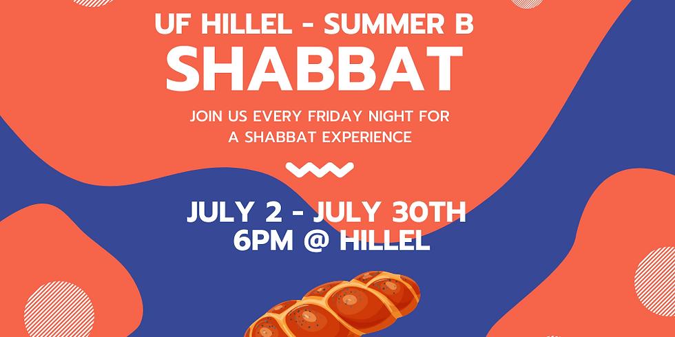 Summer Shabbat: July 9, 2021