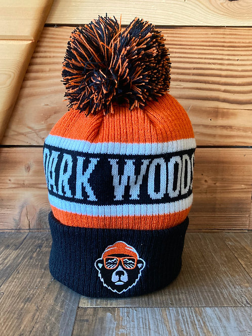 Dark Woods Pom Pom Toque